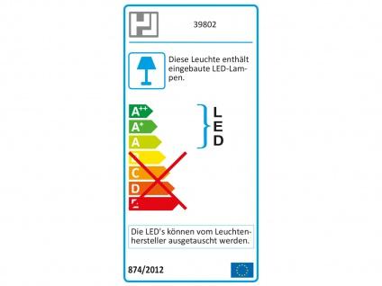 LED Wandleuchte Wandlampe Leuchte Nickel matt Acryl weiß matt CLIP - Vorschau 4