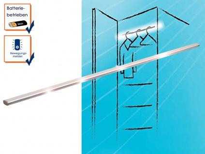 LED Kleiderstange Bewegungssensor Batterie 1, 2 W Einbauleuchte Unterbauleuchte