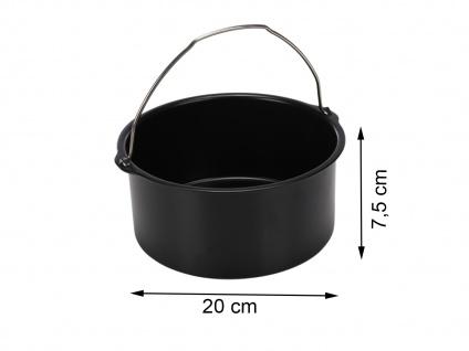 Backform Kuchen Form Zubehör für Princess Heißluftfritteuse 182025/182050/180160
