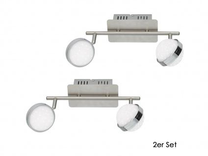 2er Set LED Deckenlampe STER, Fernbedienung, dimmbar, 3000-6500K, Deckenleuchte - Vorschau 2