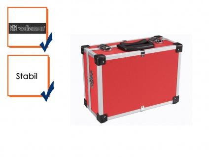 Werkzeugkiste Werkzeugkasten Aluminum Case 32x23x15, 5cm rot