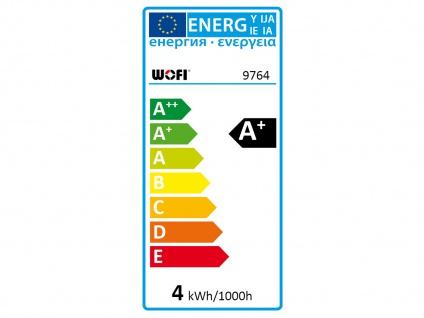 FILAMENT LED Leuchtmittel Wellen-Struktur 4 Watt, 300 Lumen, 1800 Kelvin, E27 - Vorschau 4