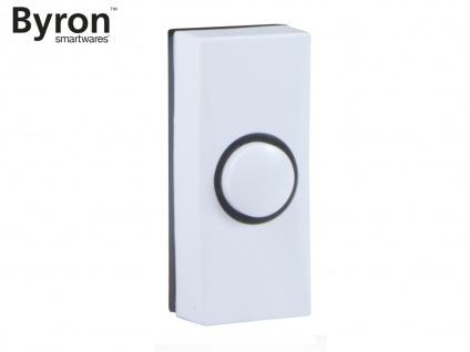 Universal Klingeltaster weiß schwarz für 1Familienhaus, Klingelknopf Hausklingel