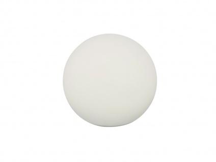 2x LED OUTDOOR Kugel Tischleuchte kalbellos für Außen Akku Batterie USB Anschluß - Vorschau 2