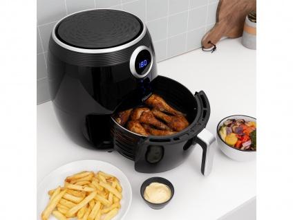 Digitale Heißluftfritteuse XXL Umluft Crispy Fryer ohne Öl, 4, 5 Ltr. 1500Watt - Vorschau 3