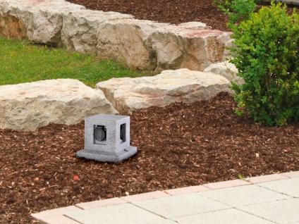 Außensteckdosen Granitoptik 4 fach - 2er Set Gartensteckdosen Terrassensteckdose - Vorschau 5