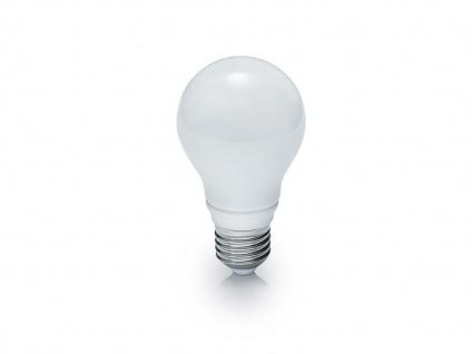 LED Leuchtmittel E27 Fassung, 7W, 560lm & 3000K in Warmweiß, Glas tropfenförmig