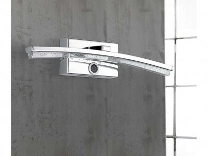 LED Wandleuchte mit Dimmer, Chrom / Acrylgas, Wofi-Leuchten - Vorschau 1