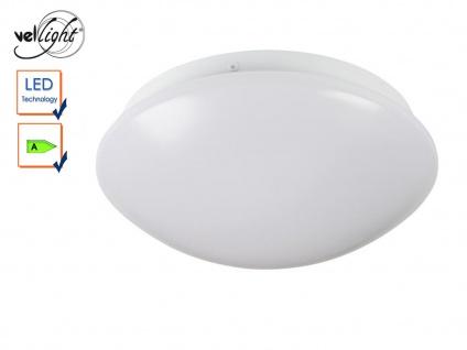 LED Deckenleuchte rund Deckenlampe weiß 22, 5cm, Deckenbeleuchtung Flur Diele