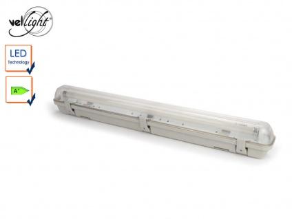Wasserfeste T8 LED Deckenleuchte 65, 5 cm, ideal für Keller, Garage, Hobbyraum