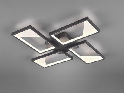 Ausgefallene LED Küchendeckenlampe für über Esstisch Esszimmerleuchte viereckig