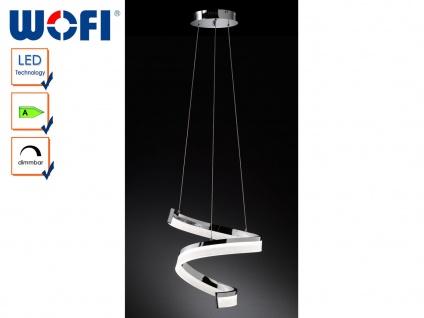 LED Pendelleuchte dimmbar, Chrom poliert, Wofi-Leuchten - Vorschau 1