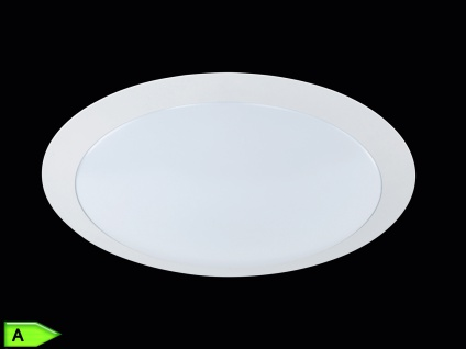 TRIO LED-Deckenlampe, ink. 12W SMD-LED, 700Lm, Ø 35cm, weiß