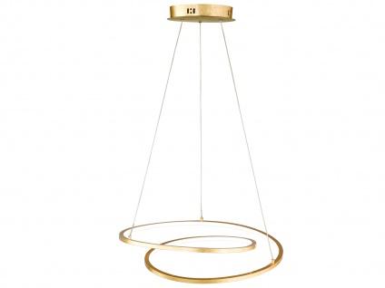 Höhenverstellbare LED Pendelleuchte Gold dimmbar 23W Ø 48, 5cm - Esstischlampen - Vorschau 1