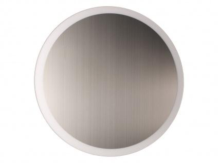 Angesagte LED Innenlampe für Wand und Decke mit Spiegel Design Silber rund 50cm - Vorschau 2
