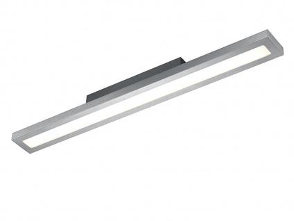 Trio LED Design Deckenleuchte SILAS dimmbar, Deckenbeleuchtung Flurlampe flach
