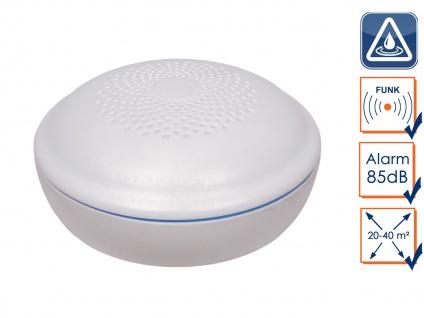 Funkvernetzbarer Wassermelder Wasserwächter für ELRO Connects - Küche Bad Keller