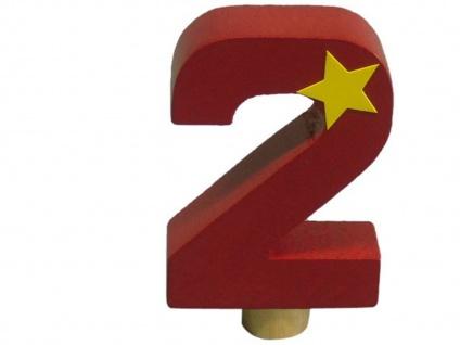 Geburtstagszahl aus Holz 0 bis 9, Tischdeko Geburtstagsdeko Kindergeburtstag - Vorschau 5