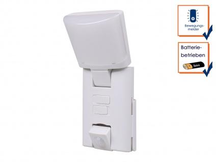 Tragbares LED Outdoor Nachtlicht / Orientierungslicht mit Bewegungsmelder weiß