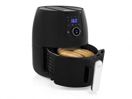 Digitale 2in1 XXL Heißluftfritteuse 4, 5L mit Pizzapfanne - Frittieren ohne Öl - Vorschau 4