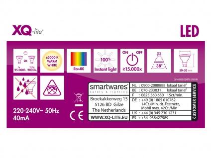 5er-Set LED Refklektor Leuchtmittel 5W warmweiß, 330 Lumen, GU10 PAR16 - Vorschau 4