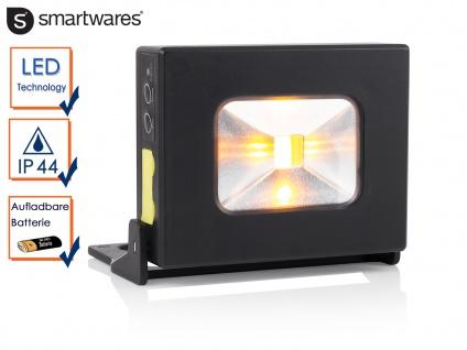 LED Mehrzwecklampe Akku als Powerbank nutztbar Magnet IP44 Handlampe Strahler - Vorschau 1