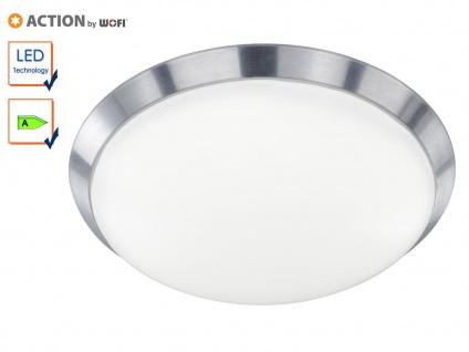 LED Deckenlampe Deckenleuchte klassisch, 40cm, Alu, Action by Wofi