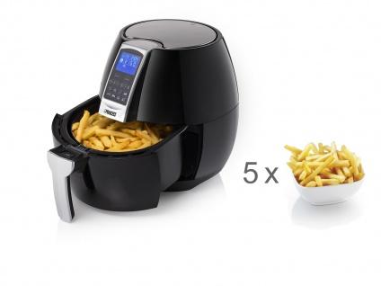 PRINCESS Digitale XL Heißluftfritteuse 3, 2 Liter Pommes Fritteuse mit wenig Fett