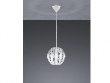 LED Hängeleuchte Kugelpendel 1 flammig weiß Ø23cm über Kücheninsel EsstischLAMPE