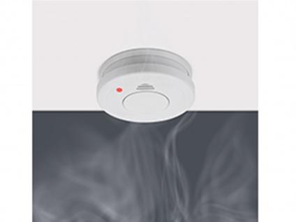 Rauchmelder 4er Set mit Magnetbefestigung, Alarm für Feuerschutz & Brandschutz - Vorschau 5