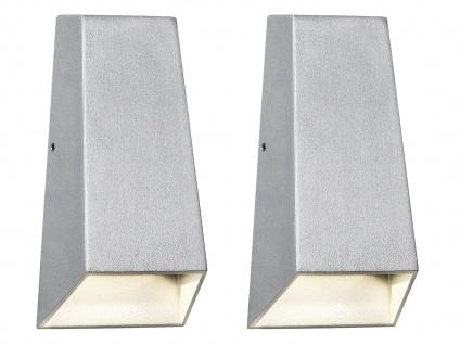 2er-Set Up/Down Außenwandleuchten IMOLA, 6 Watt High-Power-LEDs IP44 - Vorschau 2