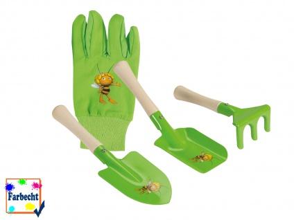 Sandspielzeug mit Gartenhandschuhe für Kinder DIE BIENE MAJA