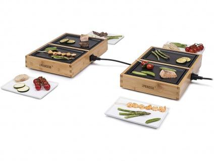 Teppanyaki Grill für 4 Personen, erweiterbar Japanischer Elektrogrill Tischgrill