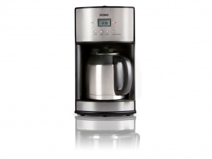 Timer-Kaffeemaschine Kaffeeautomat 24-Std. Timer, Thermoskanne, 1, 2 Liter