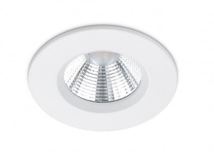 LED Einbaustrahler Spot Decke rund dimmbar Weiß matt 5, 5W - Deckenbeleuchtung