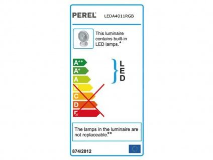 10W RGB LED Flutlichtstrahler mit Fernbedienung für innen u. außen, Partylight - Vorschau 4