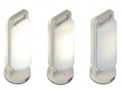 Universal LED Solarleuchte mit USB Ladefunktion dimmbar IP54 H. 28, 2cm Weiß - Vorschau 5