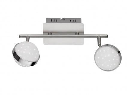 2er Set LED Deckenbalken MONDE, Sterndesign, Deckenleuchten Deckenlampen LED - Vorschau 3