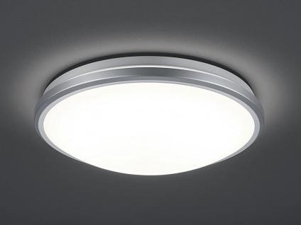 Flache LED Deckenleuchte mit integriertem Bewegungsmelder Flurbeleuchtung Ø32cm
