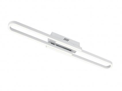 3 Stufen Switch Dimmer LED Deckenlampe aus weiß mattem Metall & Acrylglas, IP20