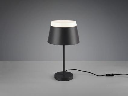 Ausgefallene Nachtischlampen für Schlafzimmer, moderne Flurlampen Anthrazit rund