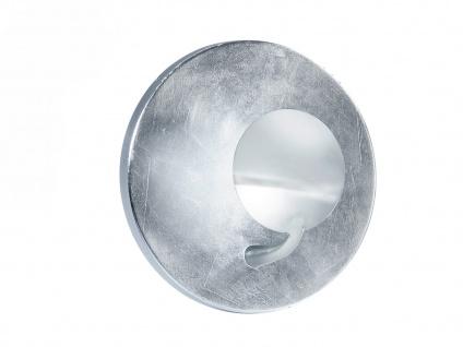 LED Wandleuchte Wandlampe AURORA in Chrom und Silber, Ø 20 cm, 2x LED, Trio - Vorschau 2