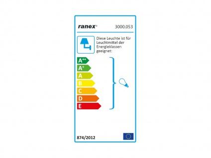 Spiegelleuchte Badezimmerlampe Schutzklasse IP44 satiniertes Glas E14 Sockel - Vorschau 2