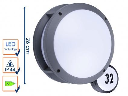 LED Außenwandleuchte Hausnummernleuchte Wandleuchte 5Watt, 350 Lumen, IP44