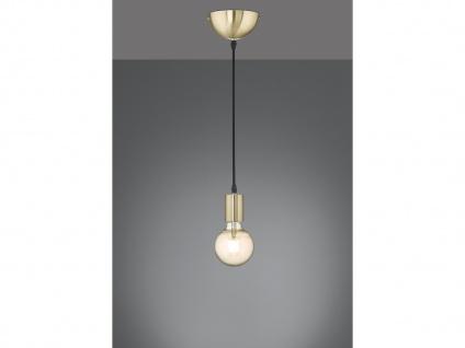 Minimal LED Schnurpendel mit Fadenleuchte, Retro Pendelleuchte mit Glühbirne E27
