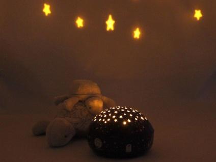 2er Set LED Nachtlicht Baby, projiziert Sterne ins Kinderzimmer Schlummerlampe - Vorschau 5
