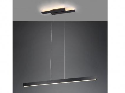 LED Pendelleuchte Schwarz mit 3 Stufen Dimmer schmale Lampen für über Esstisch