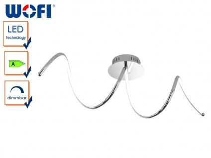 LED Deckenleuchte UNIQUE, Chrom, LED Deckenlampen Deckenleuchte Deckenlampe