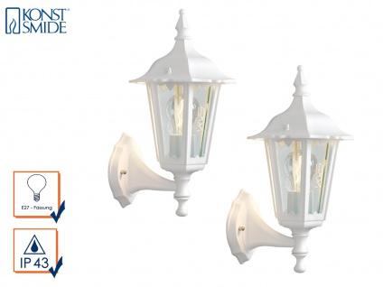 2er-Set stehende Wandleuchten Außenwandleuchte Wandlaterne Wandlampe