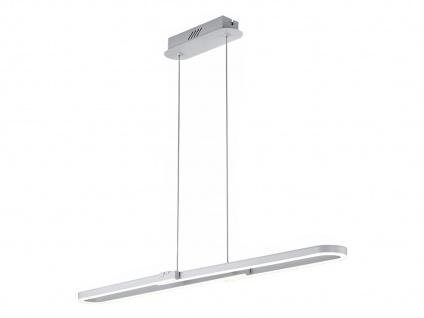 Romulus Hängelampe mit Switch Dimmer für Innen, Metall weiß matt, Acrylglas, A+